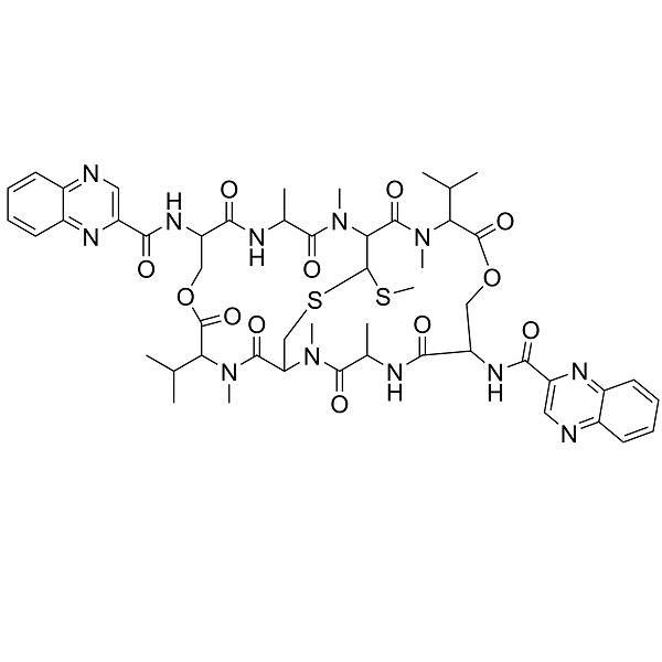 Echinomycin; Quinomycin A; Actinoleukin; MA-537-A1; X 948; X 53III;