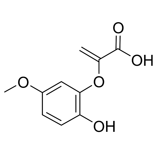 2-(2-Hydroxy-5-methoxyphenoxy) acrylic acid